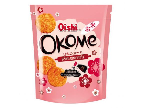 Bánh Gạo Nhật Oishi Okome Vị Tương Ngọt 100G