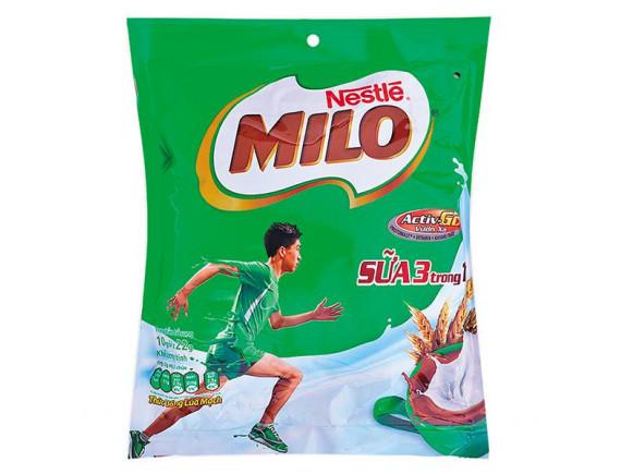 Thức Uống Lúa Mạch Nestle Milo 3In1 Hòa Tan 10 Gói*22G