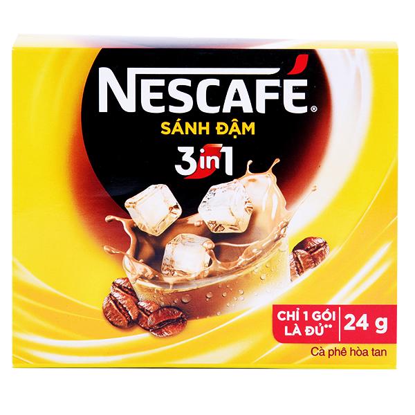 Cà Phê Nescafe 3IN1 Sánh Đậm 24G*10 Gói