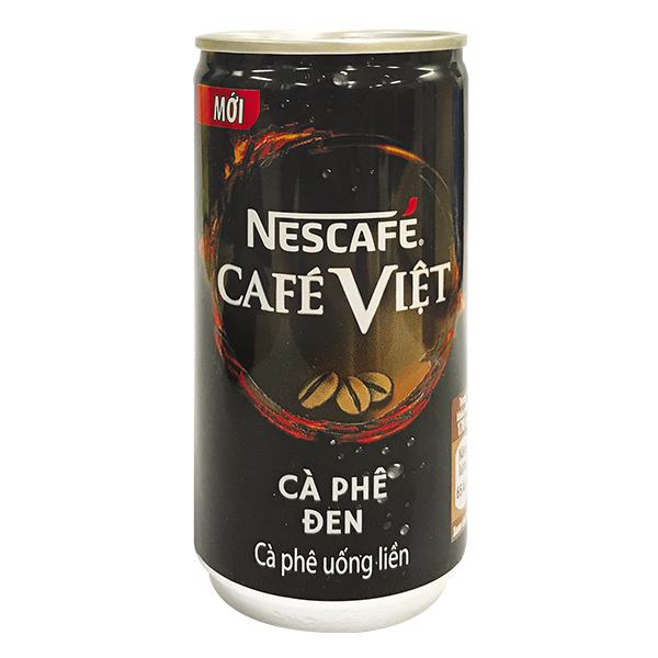 Nescafe Đen Lon 170Ml