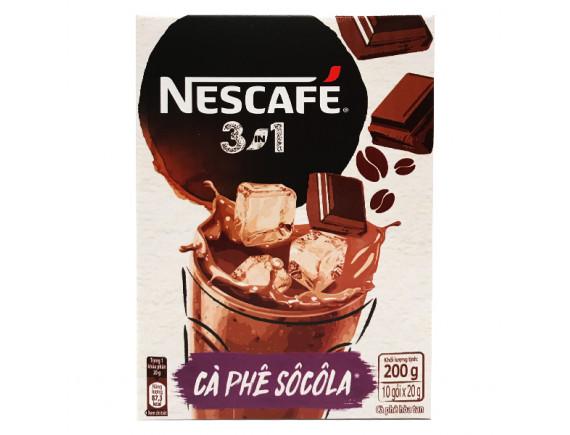 Cà Phê Nescafe 3IN1 Socola 20G*10 Gói