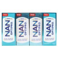 Lốc 4 Sữa Bột Pha Sẵn Nan Optipro Hộp 185Ml