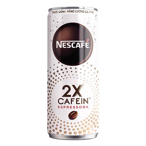 Thức Uống Năng Lượng Nescafe Espressoda Lon 330Ml