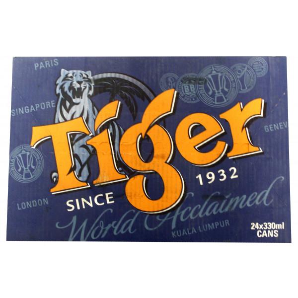 Bia Tiger Thùng 24 Lon 330Ml