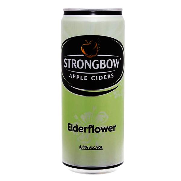 Nước Táo Strongbow Vị Hoa Elder Sleek Lon 330Ml