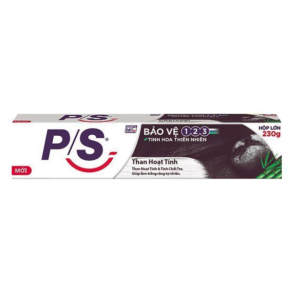 Kem Đánh Răng P/S Bảo Vệ 123 Than Hoạt Tính & Tre 230G