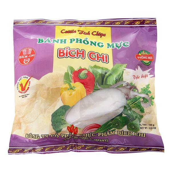Bánh Phồng Mực Bích Chi 100G