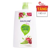Sữa Tắm Hazeline Matcha Lựu Đỏ 1.2Kg