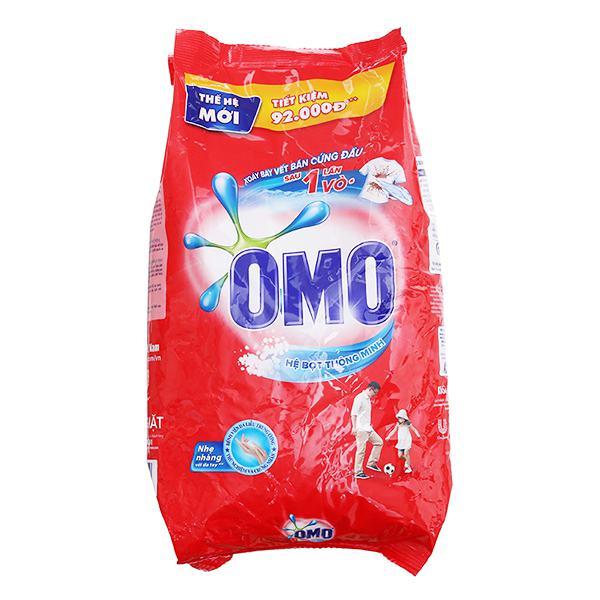 Bột Giặt OMO Hệ Bọt Thông Minh 6Kg