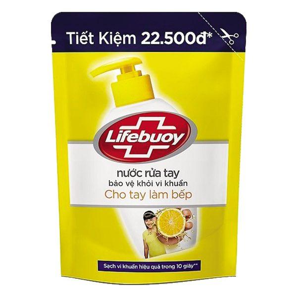 Nước Rửa Tay Lifebuoy Tay Làm Bếp Túi 450G