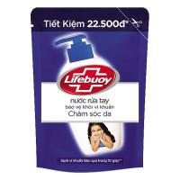 Nước Rửa Tay Lifebuoy Chăm Sóc Da Túi 450G