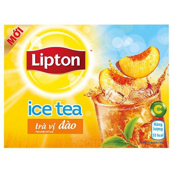 Trà Lipton Ice Tea Đào 14G*16