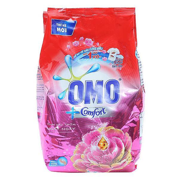 Bột Giặt Omo Comfort Tinh Dầu Thơm Ngất Ngây Bịch 720G