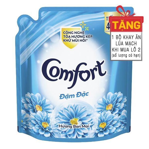 Nước Xả Vải Comfort Đậm Đặc Hương Ban Mai Túi 2.6L