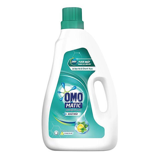 Nước Giặt Omo Matic Cửa Trên Khử Mùi Chai 2.3Kg