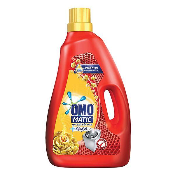 Nước Giặt Omo Matic Comfort Cửa Trên Chai 2.3 Kg