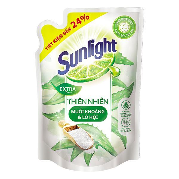 Nước Rửa Chén Sunlight Thiên Nhiên Túi 2.1Kg