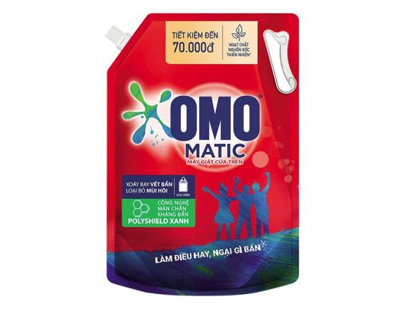 Nước Giặt Omo Matic Cửa Trên Túi 3.1Kg