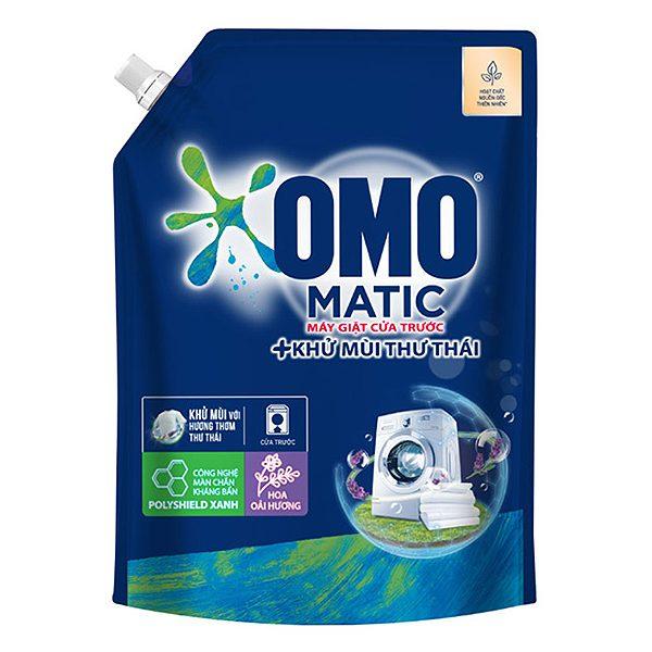 Nước Giặt Omo Matic Khử Mùi Thư Thái Cửa Trước 2Kg