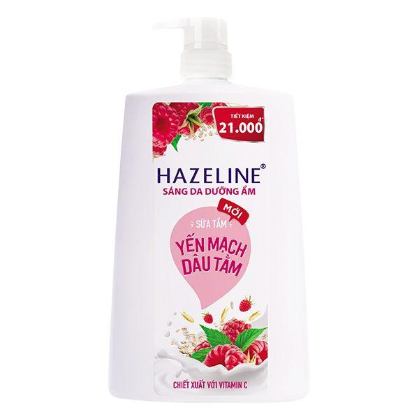 Sữa Tắm Hazeline Yến Mạch Dâu Tằm 1.2Kg
