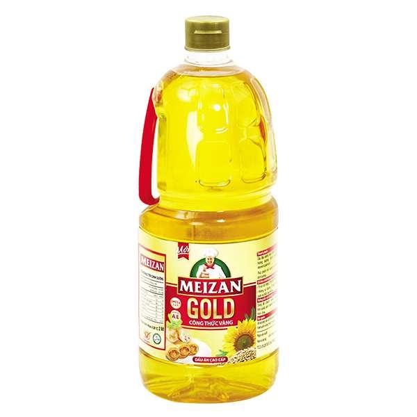 Dầu Ăn Cao Cấp Meizan Gold 2L