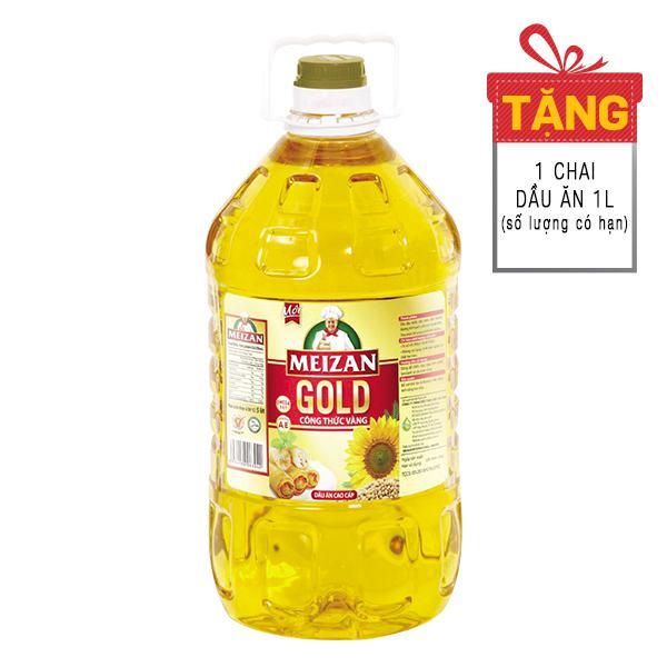 Dầu Ăn Cao Cấp Meizan Gold 5L