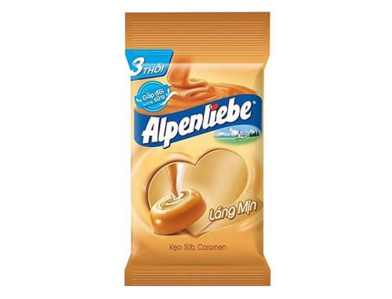 Kẹo Alpenliebe Caramen 3 Thỏi 96G