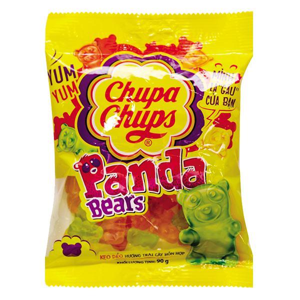 Kẹo Dẻo Chupa Chups Vị Trái Cây Túi 90G