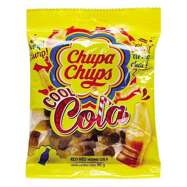 Kẹo Dẻo Chupa Chups Vị Cola Túi 90G