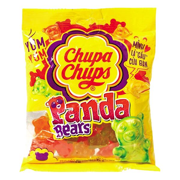 Kẹo Dẻo Chupa Chups Hương Trái Cây Tổng Hợp Gói 160G