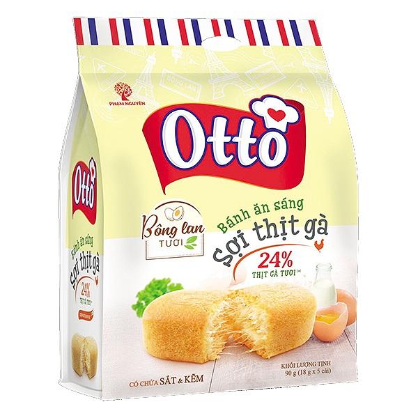 Bánh Ăn Sáng Tươi Otto Sợi Thịt Gà Gói 90G