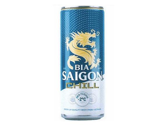 Bia Saigon Chill Lon 330Ml