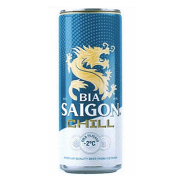 Bia Saigon Chill Lon 330Ml