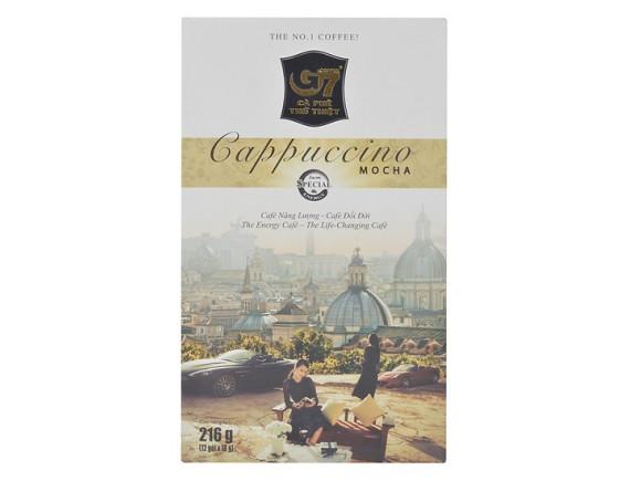 Cà Phê G7 Cappuccino Mocha Hộp 12 Gói*18G