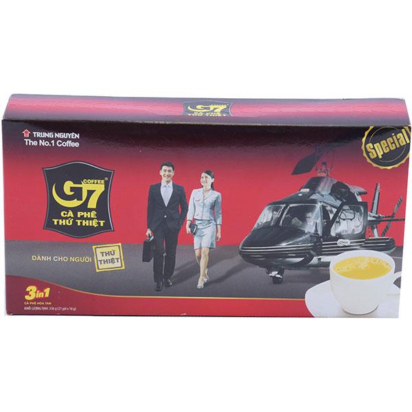 Cà Phê G7 3IN1 Hộp 21 Gói*16G