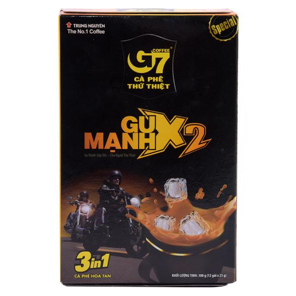 Cà Phê G7 Gu Mạnh 3IN1 Hộp 12 Gói*25G