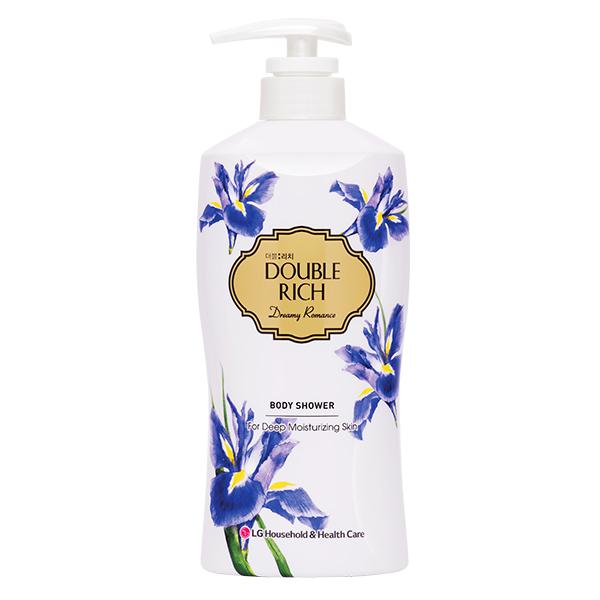Sữa tắm Double Rich Hoa Iris 550G