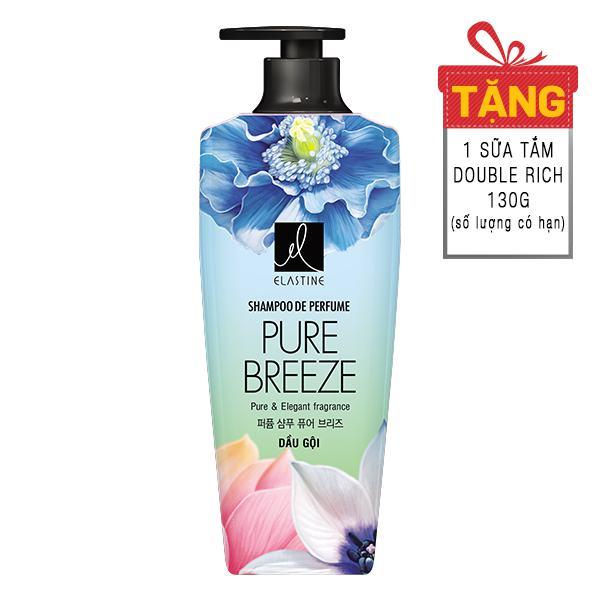 Dầu Gội Elastine Pure Breeze 600Ml