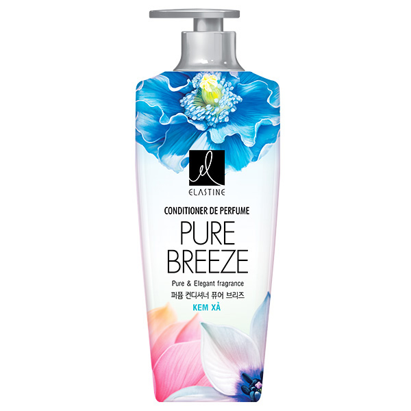 Kem Xả Elastine Pure Breeze 600Ml
