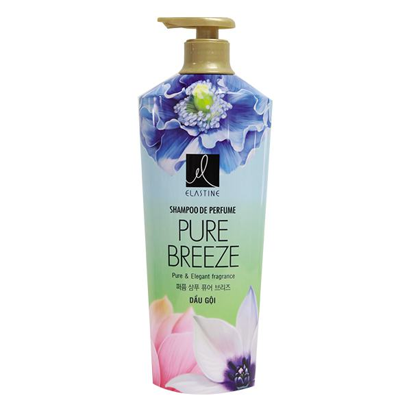 Dầu Gội Elastine Pure Breeze Chai 1000Ml