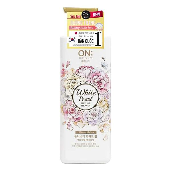 Sữa Tắm On The Body Perfume White Pearl 500G