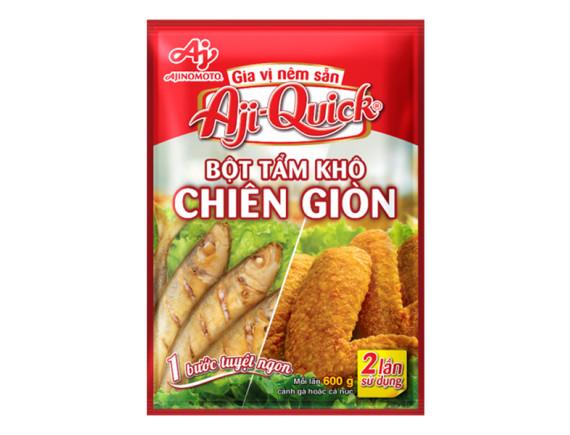 Bột Tẩm Khô Chiên Giòn Aji-Quick 84G