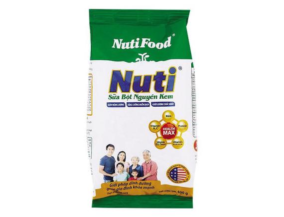 Sữa Bột Nuti Nguyên Kem Gói 400G