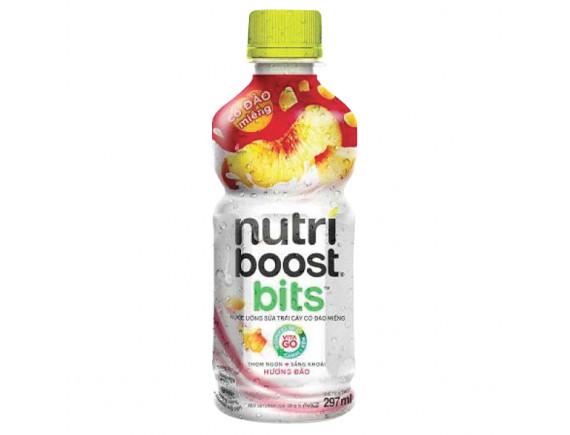 Nước Trái Cây Nutri Boost Đào Sữa 297Ml