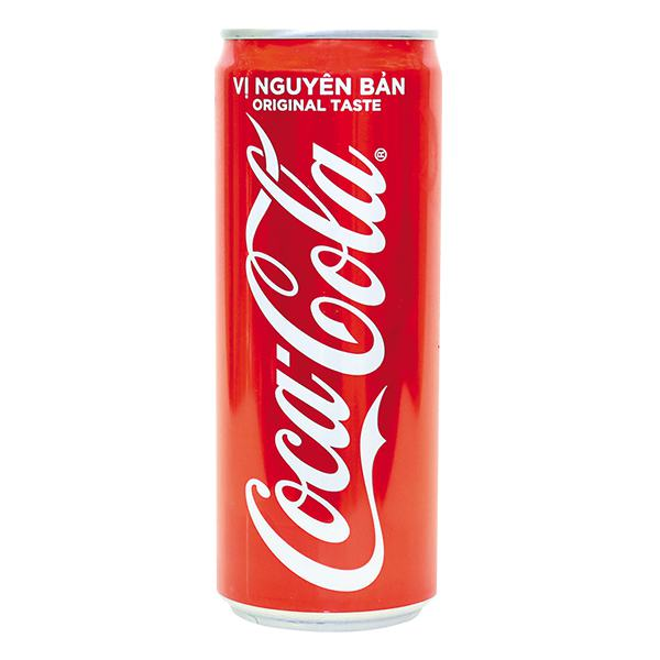 Nước Ngọt Coca Cola Sleek Lon 320Ml