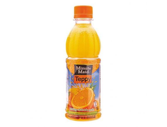 Nước Cam Ép Teppy 327Ml