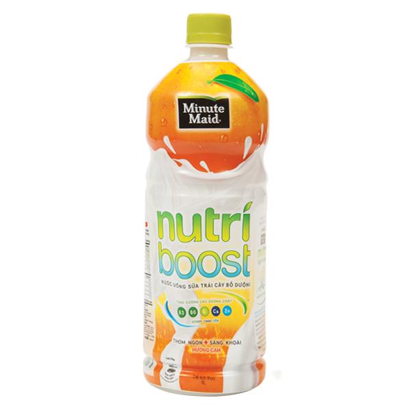 Nước Trái Cây Nutri Boost Cam Sữa 1L