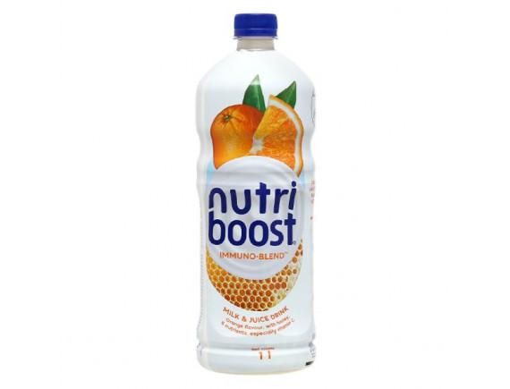 Nước Trái Cây Nutri Boost Cam Sữa Chai 1L