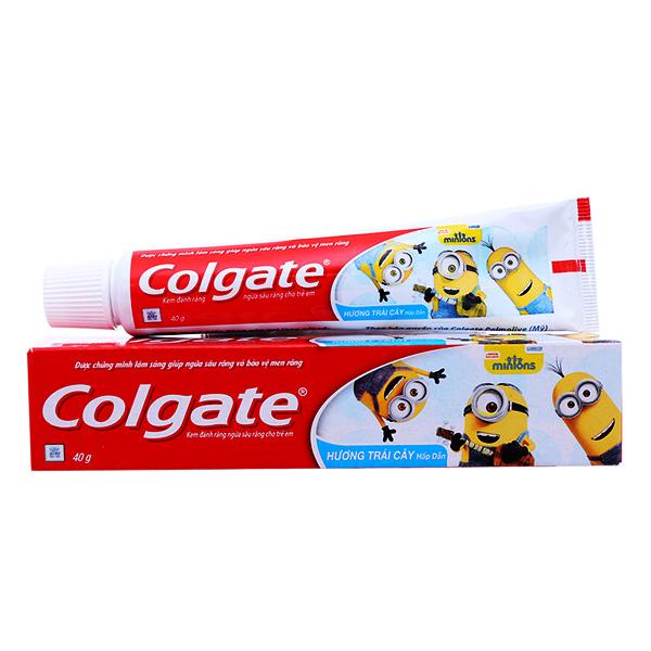 Kem Đánh Răng Colgate Trẻ Em Trái Cây 40G