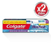 Kem Đánh Răng Colgate Maxfresh Hương Bạc Hà 230G + Bàn Chải Đánh Răng